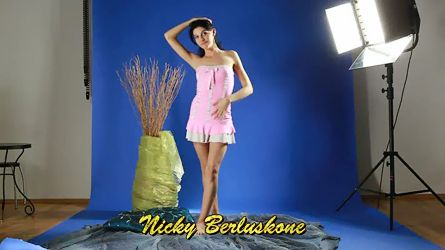 Nicky Berluskone is a young virgin girl