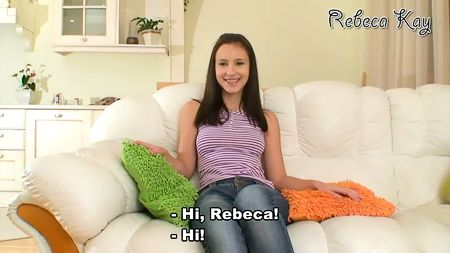 Sweetest girl Rebeca Kay virgin