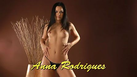 Meet young and gorgeous babe virgin Anna Rodrigues