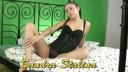 Pretty petite Sandra Stalina Virgin